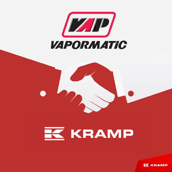 Vapormatic and Kramp partnership